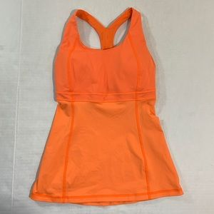 Lululemon Sports Bra Tank Top Athletic Logo 2